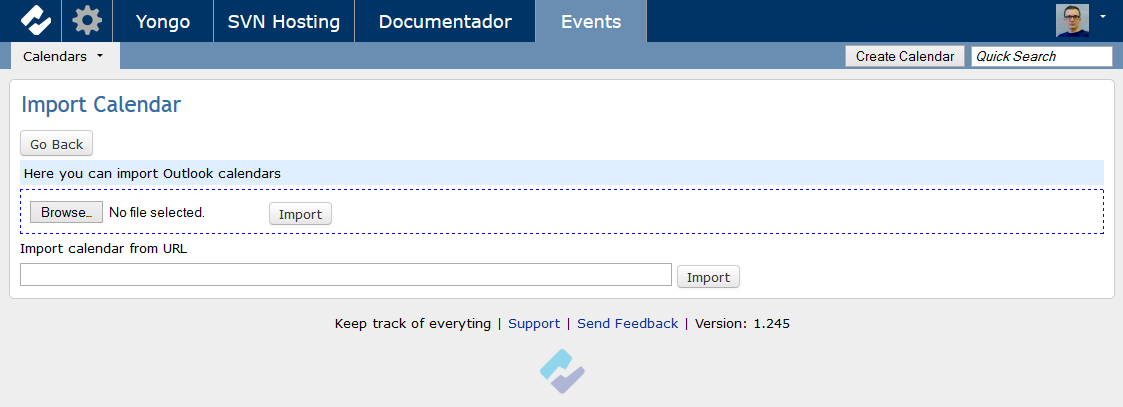 Fast secure productivity tools events import calendars solutioingenieria Image collections