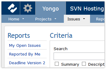 Yongo search